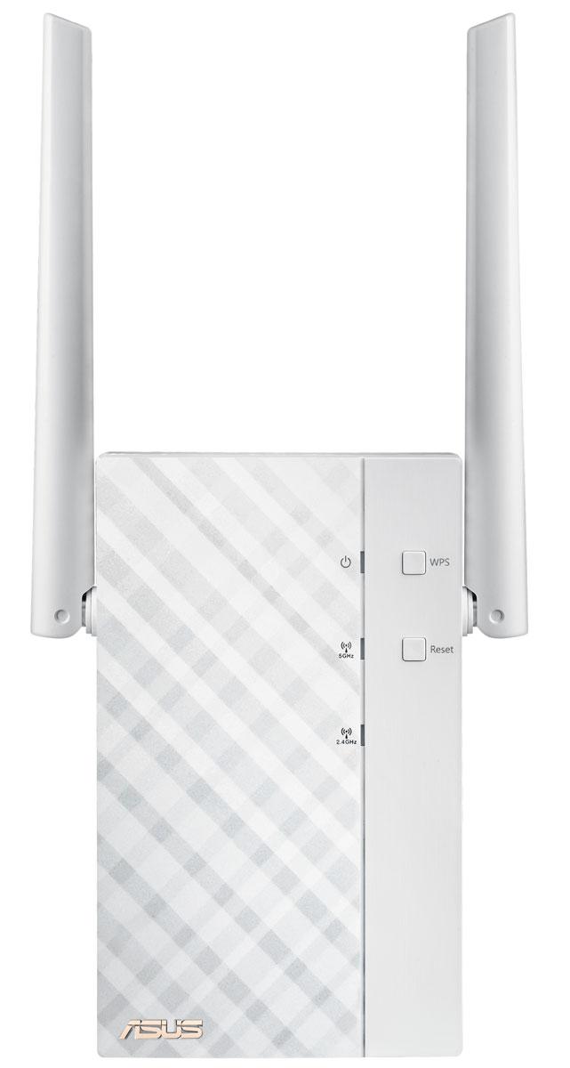 ASUS RP-AC56 повторитель беспроводного сигналаRP-AC56Основное предназначение повторителя Asus RP-AC56 – увеличивать охват беспроводной сети. С его помощью вы легко сможете обеспечить подключение к Wi-Fi для всех цифровых устройств в каждом уголке вашего дома или офиса. При этом передача данных будет происходить на скорости до 1167 Мбит/с, ведь Asus RP-AC56 поддерживает современный стандарт связи Wi-Fi 802.11ac. Asus RP-AC56 оснащается двухдиапазонным беспроводным модулем стандарта 802.11ac, в рамках которого скорость передачи данных в диапазоне 5 ГГц может достигать 867 Мбит/с. Таким образом, RP-AC56 уже сейчас дает возможность всем пользователям насладиться преимуществами новой технологии, которую относят к пятому поколению беспроводных средств коммуникации. Большая зона покрытия, обеспечиваемая двумя внешними антеннами и оптимизированным усилителем сигнала, делают Asus RP-AC56 идеальным выбором для больших помещений, а поддержка стандарта Wi-Fi 802.11ac означает повышенную скорость передачи...