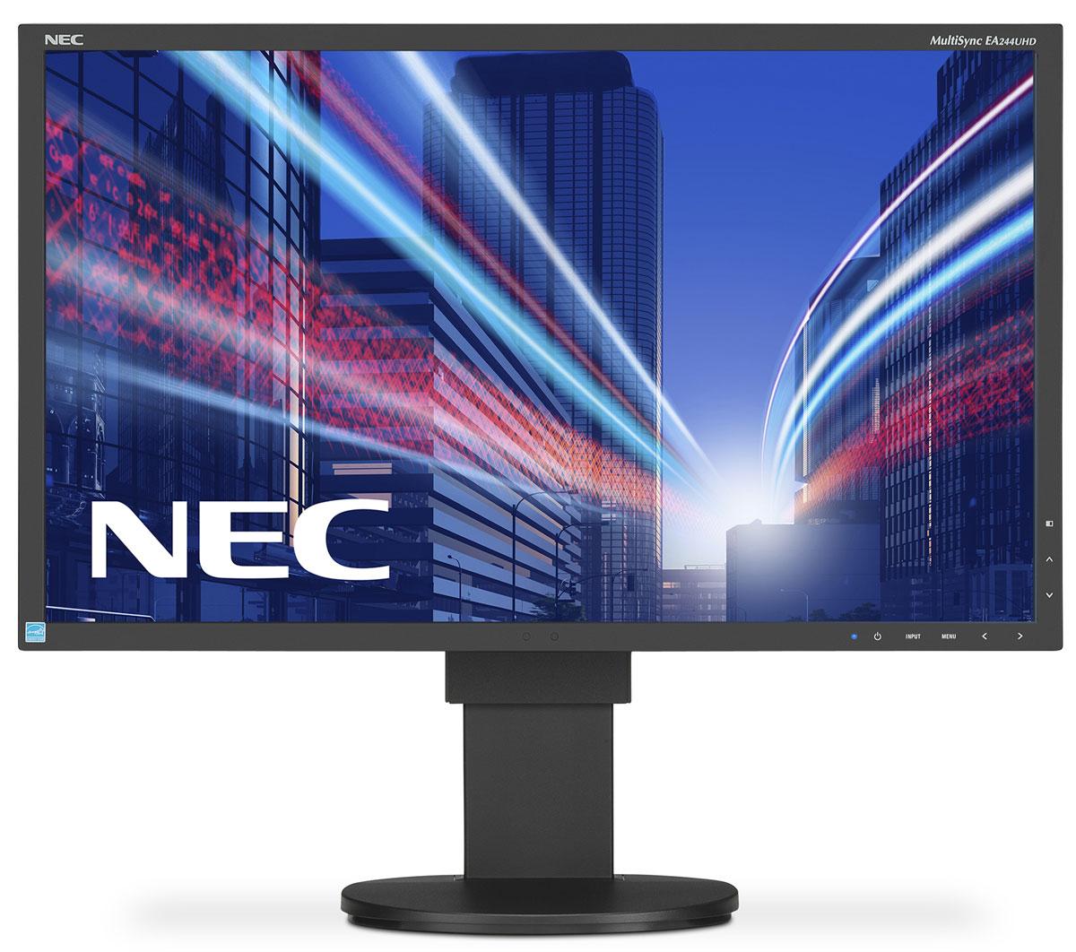 NEC EA275UHD-BK, Black монитор60003865NEC EA275UHD - это профессиональный IPS-дисплей с современным супер-разрешением 4K UHD (3840x2160) и высокой точностью воспроизведения цветов. Обладающий такими современными возможностями соединения, как HDMI и DisplayPort (UHD при 60 Гц), а также входом DVI, данный монитор может использоваться для работы с претенциозными приложениями, где принятие решения основывается на детальном, точном и надежном качестве изображения. Великолепные эргономические характеристики делают его очень удобным в обращении и улучшают профессиональную производительность. Эргономичный офис – регулировка по высоте (130 мм), возможность поворота, наклона и вращения обеспечивает удобную установку с учетом индивидуальных требований пользователя. Датчик присутствия - определяет присутствие человека перед экраном, автоматически включает или выключает экран в зависимости от присутствия или отсутствия пользователя. Универсальные возможности подключения – DVI-D, DP,...