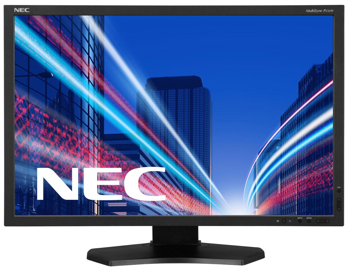 NEC P232W, Black монитор60003838Профессиональный настольный IPS-дисплей NEC P232W обладает бескомпромиссным качеством изображения, а также низким уровнем негативного воздействия на окружающую среду на протяжении всего срока службы. Отличное цветовоспроизведение, прекрасные эргономические характеристики, встроенный измеритель углеродного следа и датчик рассеянного света делают данный дисплей идеальным решением для творческих личностей. Идеальный дисплей для представителей творческих профессий, дизайнеров, фотографов, работников в области CAD-CAM, видеомонтажа, финансов, точного машиностроения и промышленного использования (например, NDT) и всех, кто работает в области графики и визуализации. Эргономичный офис – регулировка по высоте (150 мм), возможность поворота, наклона и вращения обеспечивает удобную установку с учетом индивидуальных требований пользователя. Мгновенная визуализация в реальном времени – благодаря раздельной эмуляции цветового пространства с помощью...