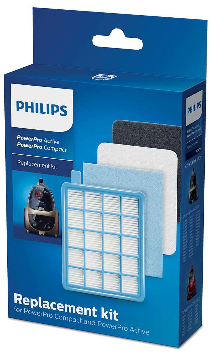 Philips FC8058/01 набор аксессуаров для пылесосов серий FC863X и FC847XFC8058/01_новый дизайнPhilips FC8058/01 - сменный комплект для PowerPro Compact и Active. Оригинальные сменные фильтры от Philips: Моющийся фильтр защиты электродвигателя EPA10 В набор входит 1 моющийся фильтр защиты электродвигателя EPA10. Он обеспечивает высокий уровень фильтрации и защищает электродвигатель от повреждений, не давая мелким частицам пыли оседать на нем. Фильтр можно мыть. Заменяйте фильтр раз в год. Воздухозаборный фильтр защиты электродвигателя (губчатый) В набор входит 1 воздухозаборный губчатый фильтр защиты электродвигателя. Он дополнительно защищает электродвигатель и устанавливается рядом с фильтром защиты электродвигателя EPA. Заменяйте фильтр раз в год. Выходные губчатые фильтры В набор входит 2 выходных губчатых фильтра. Фильтры удерживают даже самые мельчайшие частицы пыли, поэтому в комнату поступает только чистый воздух без пыли. Заменяйте фильтр раз в год.