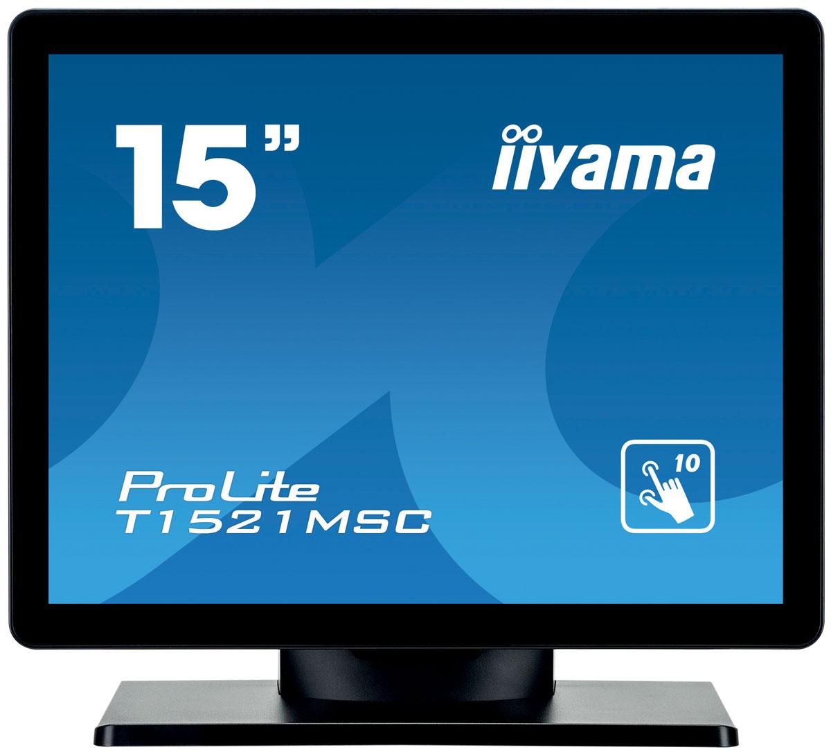 iiyama T1521MSC-B1, Black монитор