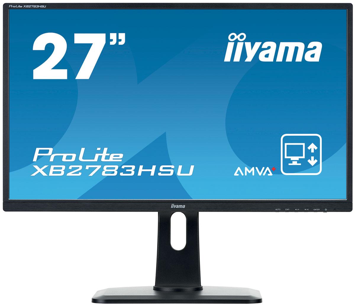 iiyama XB2783HSU-B1DP, Black мониторXB2783HSU-B1DPIiyama XB2783HSU-B1DP - высококачественный 27-дюймовый Full HD-дисплей, оснащенный светодиодной подсветкой и панелью AMVA+, гарантирующей точное и последовательное воспроизведение цвета с широкими углами обзора. Уровень динамического контраста этой модели превышает 12 000 000:1, а время отклика пикселей составляет 4 мс, что позволяет монитору демонстрировать отличное качество изображения. Эргономичная подставка обеспечивает регулировку по высоте, разворот и поворот монитора, что делает этот дисплей идеальным для широкого спектра приложений и сред, в которых гибкость и эргономика на рабочем месте являются ключевыми факторами. Монитор имеет сертификаты TCO и Energy Star. Модель идеально подойдет для образовательных, государственных, бизнес-структур и финансовых организаций. Технология панелей AMVA+ предлагает 24-битную производительность True Colour и восхитительные углы обзора. Нет мерцания + подавление синего - отличное решение для комфорта и здоровья ваших...