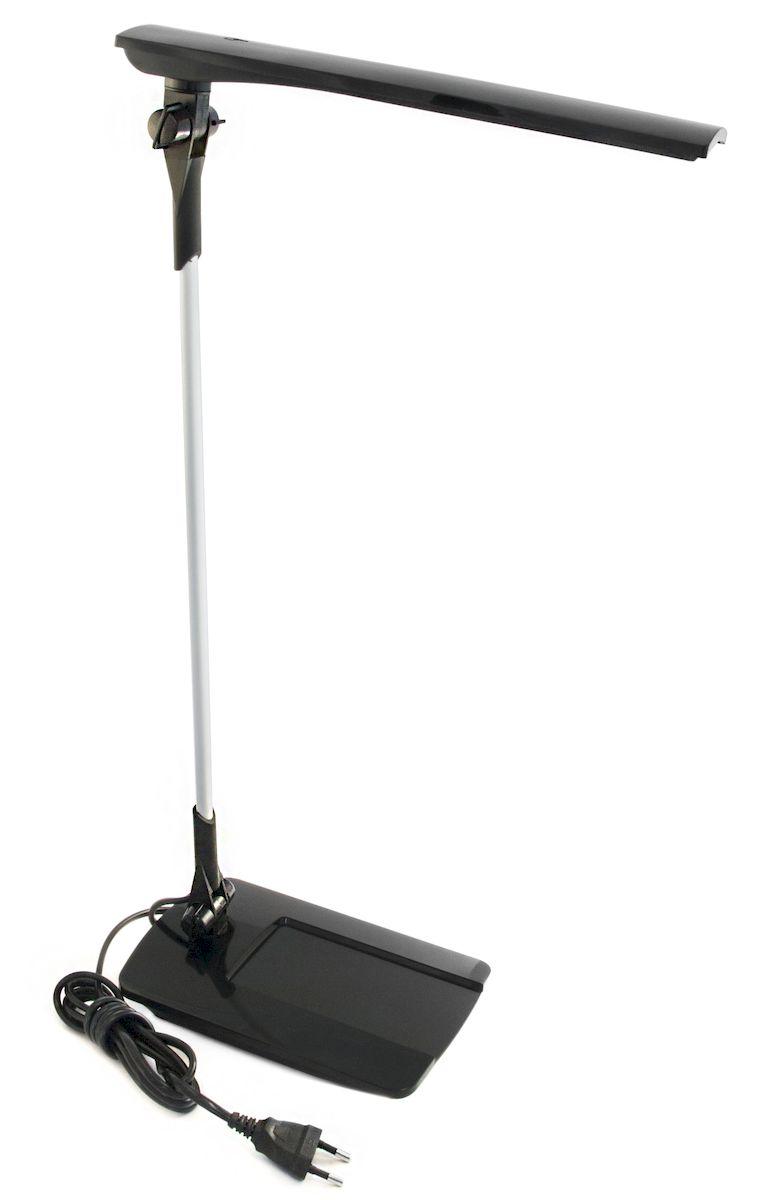 Светильник Трансвит Сириус-С16, настольный, цвет: черный4607053882148Светильник Сириус-С16 черный настольный св/диодный на подставке, сенсор. выкл., 16LED*0.3W на подставке.