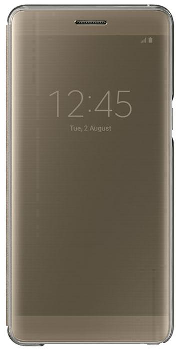Samsung EF-ZN930 Clear View Cover чехол для Galaxy Note 7, GoldEF-ZN930CFEGRUЧехол Samsung Clear View для Galaxy Note 7 идеально сочетается со стильным глянцевым корпусом смартфона. Он обеспечивает доступ к необходимой информации на экране гаджета. Вы можете принимать или отклонять звонки, смотреть время и дату и получать различные сообщения даже когда чехол закрыт. Флип откидывается влево. Samsung Clear View обеспечивает надежную и долговременную защиту вашего Galaxy Note 7 от царапин, ударов и грязи.