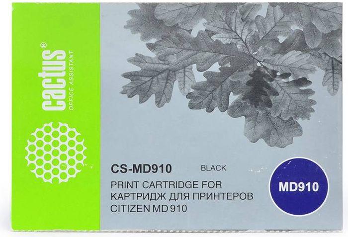 Cactus CS-MD910, Black картридж ленточный для Citizen MD-910CS-MD910Картридж ленточный Cactus CS-MD910 для матричных принтеров Citizen MD-910. Расходные материалы Cactus для печати максимизируют характеристики принтера. Они обеспечивают повышенную четкость изображения и надежное качество печати.