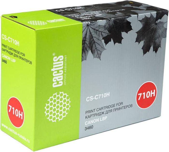 Cactus CS-C710H, Black тонер-картридж для Canon LBP 3460CS-C710HТонер-картридж Cactus CS-C710H для лазерных принтеров Canon LBP 3460. Расходные материалы Cactus для лазерной печати максимизируют характеристики принтера. Обеспечивают повышенную чёткость чёрного текста и плавность переходов оттенков серого цвета и полутонов, позволяют отображать мельчайшие детали изображения. Гарантируют надежное качество печати.