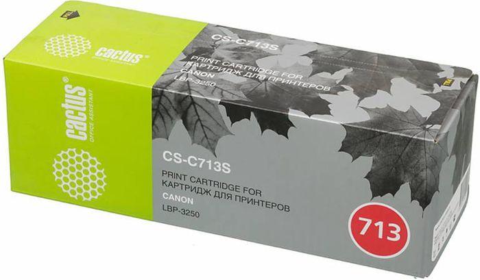 Cactus CS-C713S, Black тонер-картридж для Canon i-Sensys 3250CS-C713SТонер-картридж Cactus CS-C713S для лазерных принтеров Canon i-Sensys 3250. Расходные материалы Cactus для лазерной печати максимизируют характеристики принтера. Обеспечивают повышенную чёткость чёрного текста и плавность переходов оттенков серого цвета и полутонов, позволяют отображать мельчайшие детали изображения. Гарантируют надежное качество печати.
