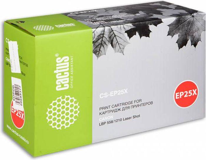 Cactus CS-EP25X, Black тонер-картридж для Canon LBP558/1210CS-EP25XТонер Картридж Cactus CS-EP25X черный для Canon LBP558/1210 (3500стр.)