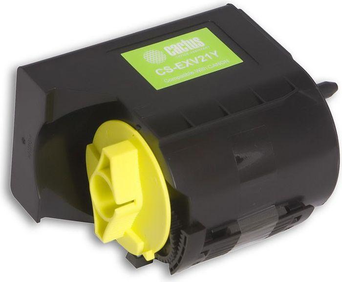 Cactus CS-EXV21Y, Yellow тонер-картридж для Canon IRC2380/C2380i/C2550/C2880/C3080/C3380/C3480/C3580