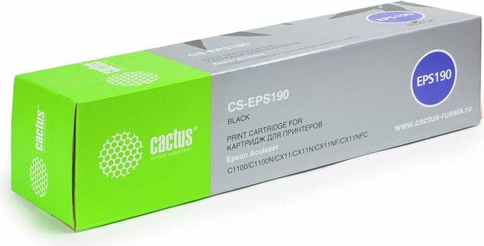 Cactus CS-EPS190, Black тонер-картридж для Epson AcuLaser C1100/C1100N/CX11/CX11N/CX11NF/CX11NFCCS-EPS190Тонер-картридж Cactus CS-EPS190 для лазерных принтеров Epson AcuLaser C1100/C1100N/CX11/CX11N/CX11NF/CX11NFC. Расходные материалы Cactus для лазерной печати максимизируют характеристики принтера. Обеспечивают повышенную чёткость чёрного текста и плавность переходов оттенков серого цвета и полутонов, позволяют отображать мельчайшие детали изображения. Гарантируют надежное качество печати.