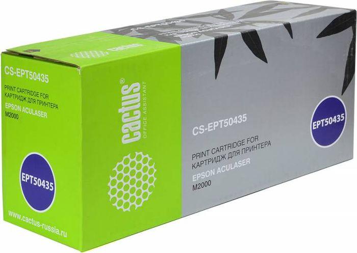 Cactus CS-EPT50435, Black тонер-картридж для Epson AL M2000CS-EPT50435Тонер-картридж Cactus CS-EPT50435 для лазерных принтеров Epson AL M2000. Расходные материалы Cactus для лазерной печати максимизируют характеристики принтера. Обеспечивают повышенную чёткость чёрного текста и плавность переходов оттенков серого цвета и полутонов, позволяют отображать мельчайшие детали изображения. Гарантируют надежное качество печати.
