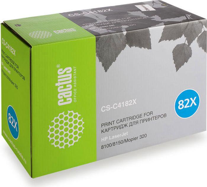 Cactus CS-C4182X, Black тонер-картридж для HP LJ 8100/8150/Mopier 320CS-C4182XТонер-картридж Cactus CS-C4182X для лазерных принтеров HP LJ 8100/8150/Mopier 320. Расходные материалы Cactus для лазерной печати максимизируют характеристики принтера. Обеспечивают повышенную чёткость чёрного текста и плавность переходов оттенков серого цвета и полутонов, позволяют отображать мельчайшие детали изображения. Гарантируют надежное качество печати.