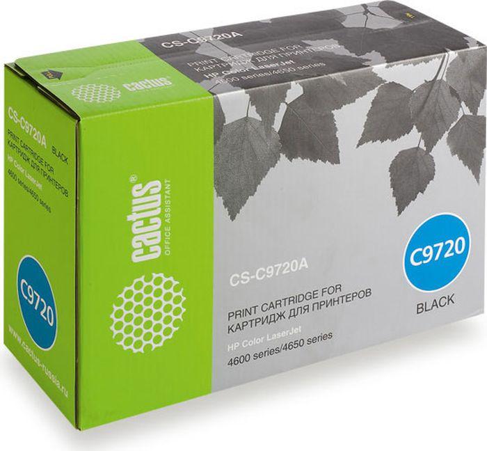 Cactus CS-C9720A, Black тонер-картридж для HP CLJ 4600/4650CS-C9720AТонер-картридж Cactus CS-C9720A для лазерных принтеров HP CLJ 4600/4650. Расходные материалы Cactus для лазерной печати максимизируют характеристики принтера. Обеспечивают повышенную чёткость чёрного текста и плавность переходов оттенков серого цвета и полутонов, позволяют отображать мельчайшие детали изображения. Гарантируют надежное качество печати.