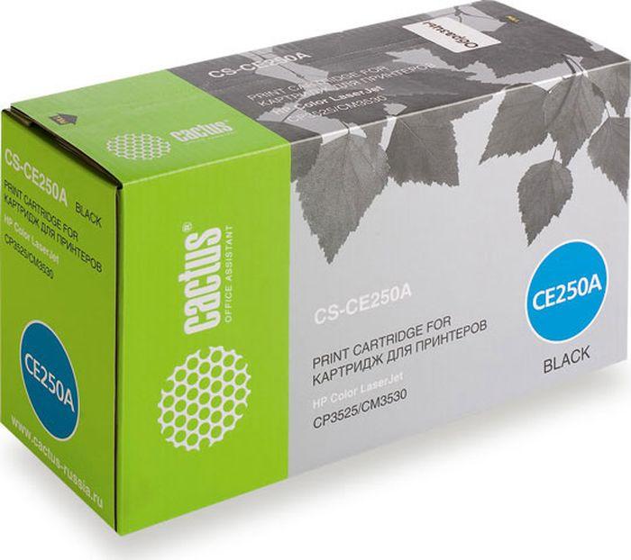 Cactus CS-CE250A, Black тонер-картридж для HP CLJ CP3525/CM3533CS-CE250AТонер-картридж Cactus CS-CE250A для лазерных принтеров HP CLJ CP3525/CM3533. Расходные материалы Cactus для лазерной печати максимизируют характеристики принтера. Обеспечивают повышенную чёткость чёрного текста и плавность переходов оттенков серого цвета и полутонов, позволяют отображать мельчайшие детали изображения. Гарантируют надежное качество печати.