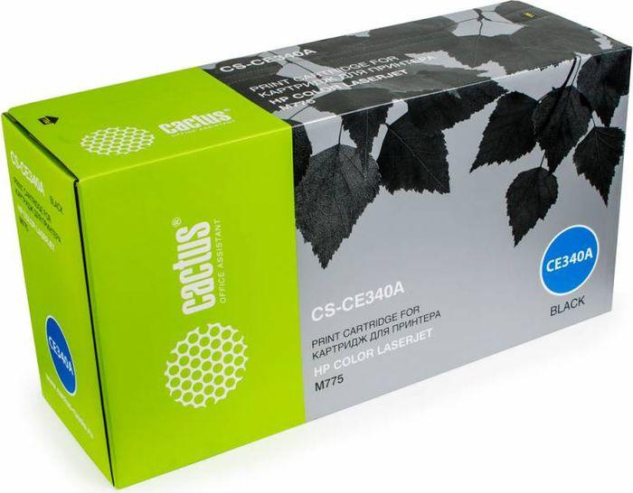 Cactus CS-CE340A, Black тонер-картридж для HP CLJ M775CS-CE340AТонер-картридж Cactus CS-CE340A для лазерных принтеров HP CLJ M775. Расходные материалы Cactus для лазерной печати максимизируют характеристики принтера. Обеспечивают повышенную чёткость чёрного текста и плавность переходов оттенков серого цвета и полутонов, позволяют отображать мельчайшие детали изображения. Гарантируют надежное качество печати.