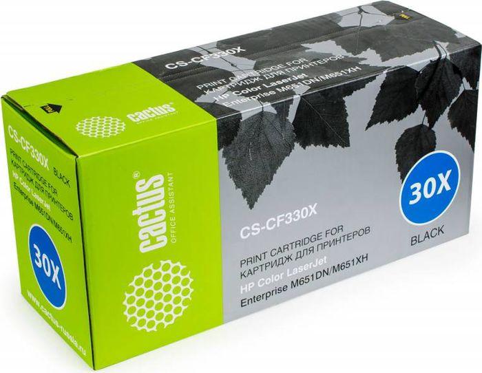 Cactus CS-CF330X, Black тонер-картридж для HP CLJ M651dn/M651n/M651xhCS-CF330XТонер-картридж Cactus CS-CF330X для лазерных принтеров HP CLJ M651dn/M651n/M651xh. Расходные материалы Cactus для лазерной печати максимизируют характеристики принтера. Обеспечивают повышенную чёткость чёрного текста и плавность переходов оттенков серого цвета и полутонов, позволяют отображать мельчайшие детали изображения. Гарантируют надежное качество печати.