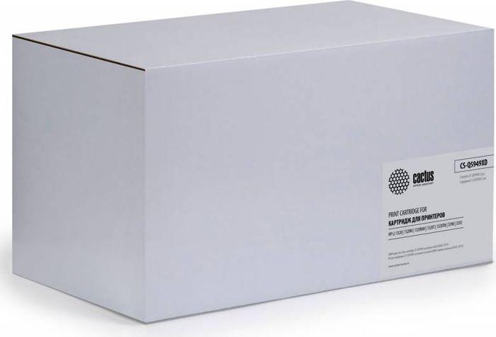 Cactus CS-Q5949XD, Black тонер-картридж для HP LJ 1320/3390/3392CS-Q5949XDТонер-картридж Cactus CS-Q5949XD для лазерных принтеров HP LJ 1320/3390/3392. Расходные материалы Cactus для лазерной печати максимизируют характеристики принтера. Обеспечивают повышенную чёткость чёрного текста и плавность переходов оттенков серого цвета и полутонов, позволяют отображать мельчайшие детали изображения. Гарантируют надежное качество печати. В комплект входит 2 тонер-картриджа.