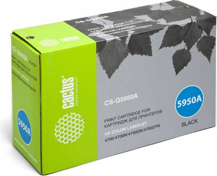 Cactus CS-Q5950A, Black тонер-картридж для HP CLJ 4700CS-Q5950AТонер-картридж Cactus CS-Q5950A для лазерных принтеров HP CLJ 4700. Расходные материалы Cactus для лазерной печати максимизируют характеристики принтера. Обеспечивают повышенную чёткость чёрного текста и плавность переходов оттенков серого цвета и полутонов, позволяют отображать мельчайшие детали изображения. Гарантируют надежное качество печати.