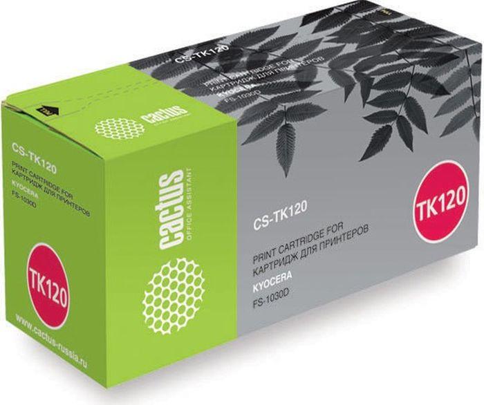 Cactus CS-TK120, Black тонер-картридж для Kyocera FS-1030D