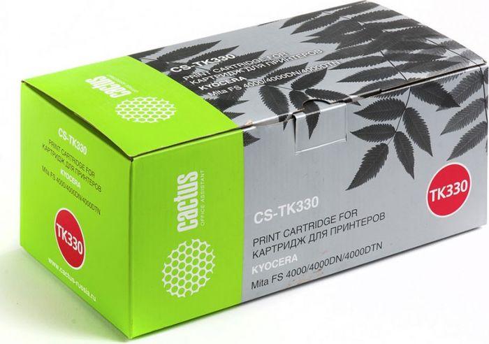 Cactus CS-TK330, Black тонер-картридж для Kyocera Mita FS 4000/4000DN/4000DTNCS-TK330Тонер-картридж Cactus CS-TK330 для лазерных принтеров Kyocera Mita FS 4000/4000DN/4000DTN. Расходные материалы Cactus для лазерной печати максимизируют характеристики принтера. Обеспечивают повышенную чёткость чёрного текста и плавность переходов оттенков серого цвета и полутонов, позволяют отображать мельчайшие детали изображения. Гарантируют надежное качество печати.