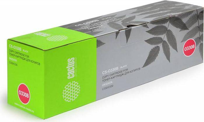 Cactus CS-O330BK, Black тонер-картридж для Oki C330/530CS-O330BKТонер-картридж Cactus CS-O330BK для лазерных принтеров Oki C330/530. Расходные материалы Cactus для лазерной печати максимизируют характеристики принтера. Обеспечивают повышенную чёткость чёрного текста и плавность переходов оттенков серого цвета и полутонов, позволяют отображать мельчайшие детали изображения. Гарантируют надежное качество печати.
