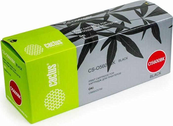 Cactus CS-O5600BK, Black тонер-картридж для Oki C5600/C5700CS-O5600BKТонер-картридж Cactus CS-O5600BK для лазерных принтеров Oki C5600/C5700. Расходные материалы Cactus для лазерной печати максимизируют характеристики принтера. Обеспечивают повышенную чёткость чёрного текста и плавность переходов оттенков серого цвета и полутонов, позволяют отображать мельчайшие детали изображения. Гарантируют надежное качество печати.