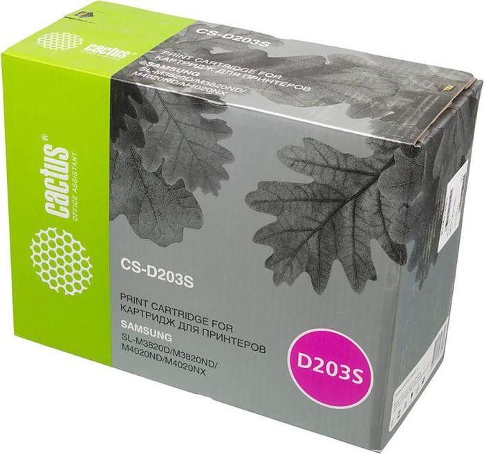 Cactus CS-D203S, Black тонер-картридж для Samsung SL-M3820D/M3820ND/M4020ND/M4020NX