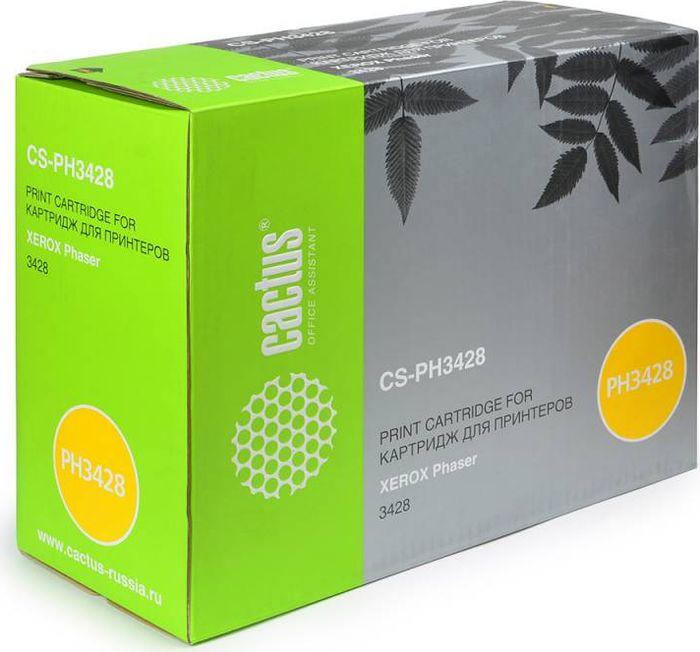 Cactus CS-PH3428X 106R01246, Black тонер-картридж для Xerox Phaser 3428CS-PH3428XТонер-картридж Cactus CS-PH3428X 106R01246 для лазерных принтеров Xerox Phaser 3428. Расходные материалы Cactus для лазерной печати максимизируют характеристики принтера. Обеспечивают повышенную чёткость чёрного текста и плавность переходов оттенков серого цвета и полутонов, позволяют отображать мельчайшие детали изображения. Гарантируют надежное качество печати.