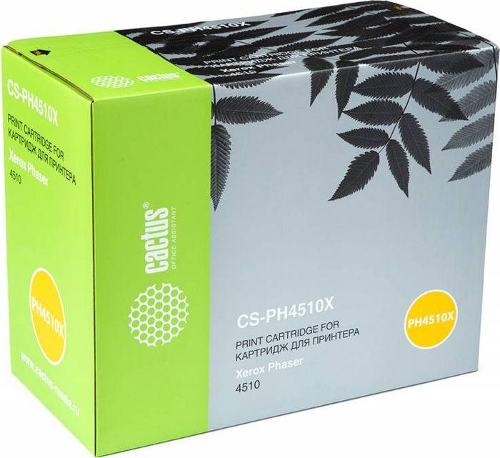 Cactus CS-PH4510X 113R00712, Black тонер-картридж для Xerox Phaser 4510CS-PH4510XТонер-картридж Cactus CS-PH4510X 113R00712 для лазерных принтеров Xerox Phaser 4510. Расходные материалы Cactus для лазерной печати максимизируют характеристики принтера. Обеспечивают повышенную чёткость чёрного текста и плавность переходов оттенков серого цвета и полутонов, позволяют отображать мельчайшие детали изображения. Гарантируют надежное качество печати.