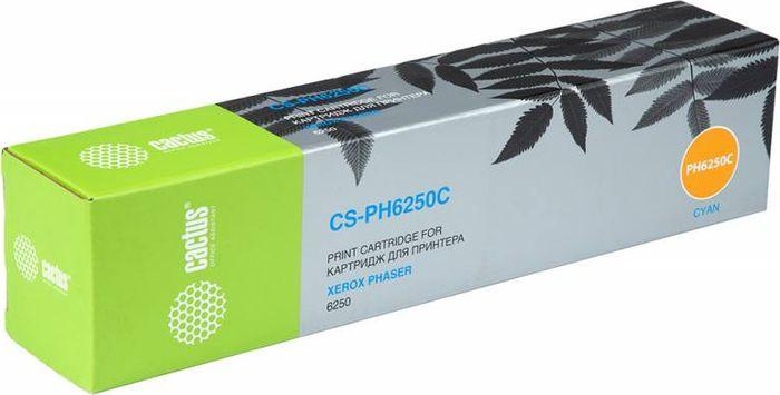 Cactus CS-PH6250C 106R00668, Cyan тонер-картридж для Xerox Phaser 6250CS-PH6250CТонер-картридж Cactus CS-PH6250C 106R00668 для лазерных принтеров Xerox Phaser 6250. Расходные материалы Cactus для лазерной печати максимизируют характеристики принтера. Обеспечивают повышенную чёткость чёрного текста и плавность переходов оттенков серого цвета и полутонов, позволяют отображать мельчайшие детали изображения. Гарантируют надежное качество печати.