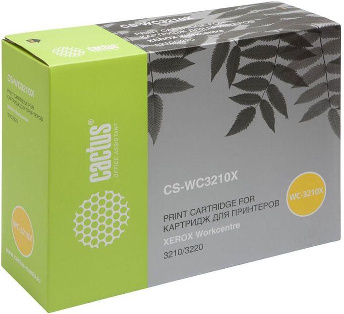 Cactus CS-WC3210X 106R01487, Black тонер-картридж для Xerox WorkCentre 3210/ 3220CS-WC3210XТонер-картридж Cactus CS-WC3210X 106R01487 для лазерных принтеров Xerox WorkCentre 3210/ 3220. Расходные материалы Cactus для лазерной печати максимизируют характеристики принтера. Обеспечивают повышенную чёткость чёрного текста и плавность переходов оттенков серого цвета и полутонов, позволяют отображать мельчайшие детали изображения. Гарантируют надежное качество печати.