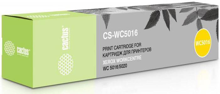 Cactus CS-WC5016 106R01277, Black тонер-картридж для Xerox WorkCentre 5016/5020CS-WC5016Тонер-картридж Cactus CS-WC5016 106R01277 для лазерных принтеров Xerox WorkCentre 5016/5020. Расходные материалы Cactus для лазерной печати максимизируют характеристики принтера. Обеспечивают повышенную чёткость чёрного текста и плавность переходов оттенков серого цвета и полутонов, позволяют отображать мельчайшие детали изображения. Гарантируют надежное качество печати. В комплект входит 2 тонер-картриджа.
