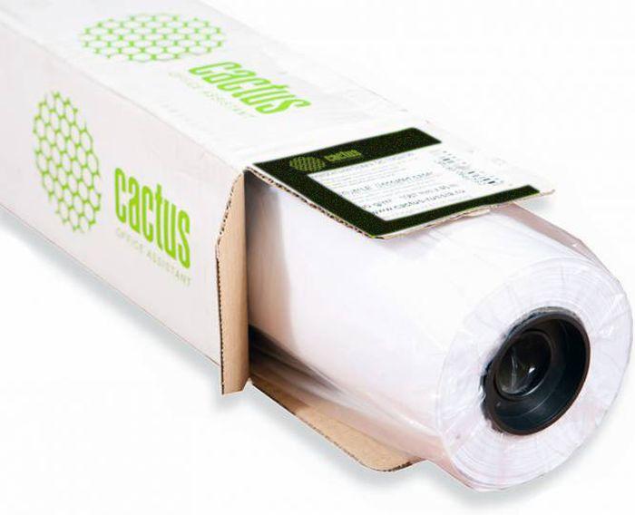 Cactus CS-WP2512-0.914X5 914мм/195г/м2 матовые полугладкие фотообои для сольвентной/латексной/УФ печати (5 м)