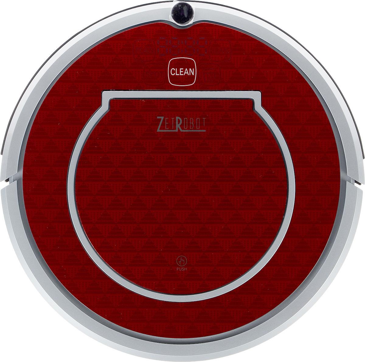 ZetRobot AH-RT, Silver Red робот-пылесос, цвет пандаAH-RT_Black Silver RedВысота ZetRobot AH-RT составляет всего 8,5 см, благодаря чему он может пройти под большинством шкафов и кроватей. Диаметр корпуса дает возможность протиснуться между близко расположенными препятствиями и убрать больше поверхности пола, чем другие пылесосы. Пылесос оснащен функциями автоматической и ручной уборки, локальной уборки и уборки по расписанию. Программа автоматической чистки позволяет устройству приступить к очистке вашей комнаты, и его движения можно изменить в зависимости от условий. Если прибор обнаружит сильное загрязнение пола, оно автоматически переключится в режим точечной уборки во вращающейся конфигурации. Ограничитель движения создает невидимый барьер, который ZetRobot AH-RT не пересекает. Он позволяет легко ограничить область работы в определенной комнате или помещении, а также предотвратить приближение устройства к хрупким или опасным предметам. В целях экономии электроэнергии ZetRobot AH-RT работает в одном режиме после...
