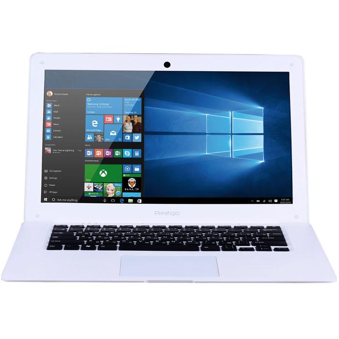 Prestigio SmartBook 141A03, WhitePSB141A03BFW_MW_CISPrestigio SmartBook 141A03 предназначен для скоростного Интернет-сёрфинга и бесперебойного доступа в облачные хранилища. Это полноценный ноутбук с экраном 14,1, полной версией ОС Windows и универсальным набором портов. С ультралёгким Smartbook 141A03 вы по достоинству оцените свободу перемещений. Вес около 1,5 килограмма сохранит осанку, а благодаря компактному размеру он поместится даже в дамской сумке. Windows 10 - это лучшая комбинация ОС Windows, которую вы когда-либо знали, плюс множество улучшений, которые вам понравятся. Интуитивно понятный интерфейс поможет быстрее и эффективнее справляться с задачами, улучшенная производительность позволит вам почувствовать новый уровень мощности, а благодаря дополнительным сервисам и приложениям каждая секунда с новым устройством будет полна комфорта и восхищения. Процессор Intel Atom обеспечит работу в режиме многозадачности, а 2 ГБ оперативной памяти будет достаточно для запуска даже самых...