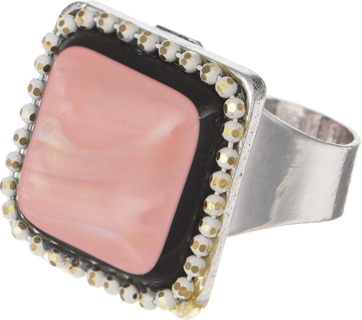 Selena Селена Кольцо Selena Street Fashion, цвет: розовый. 60025770