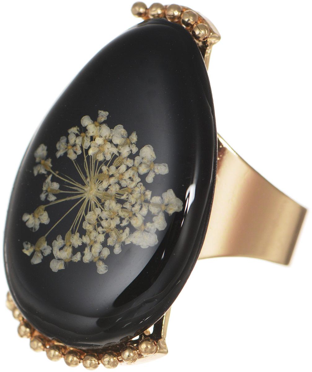 Selena Селена Кольцо Selena Street Fashion, цвет: черный. 60025840