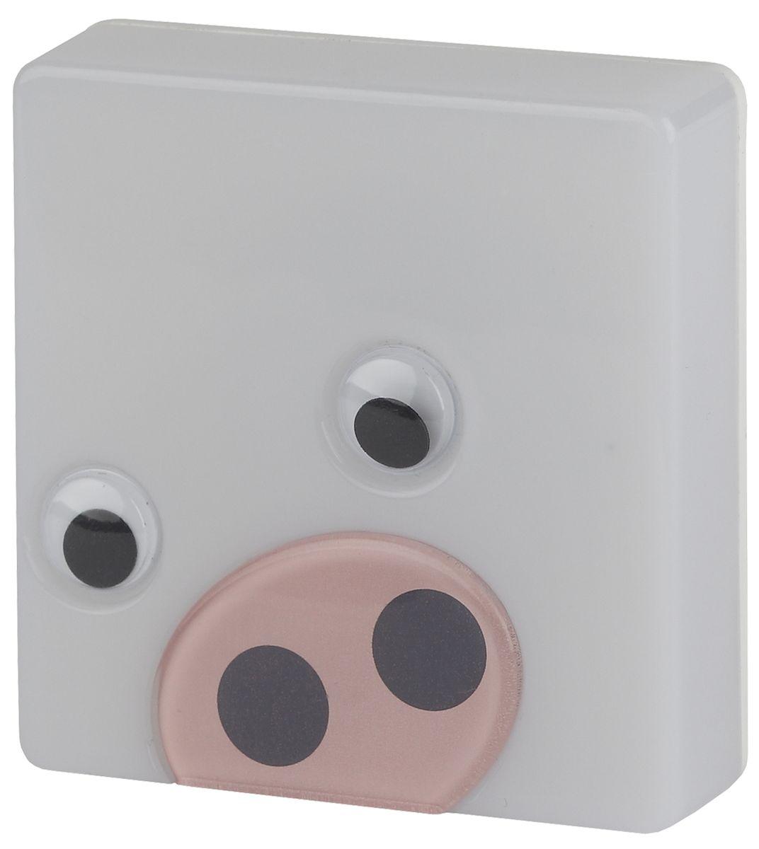 Ночник ЭРА NN-631-LS-P, цвет: розовыйNN-631-LS-PНочник со светодиодами (LED) в качестве источников света. C сенсором (включается автоматически, когда становится темно). Со съемной насадкой с накладными элементами. Без насадки ночник можно использовать как обычный ночник нейтрального дизайна. Блистерная упаковка с открытой вилкой.