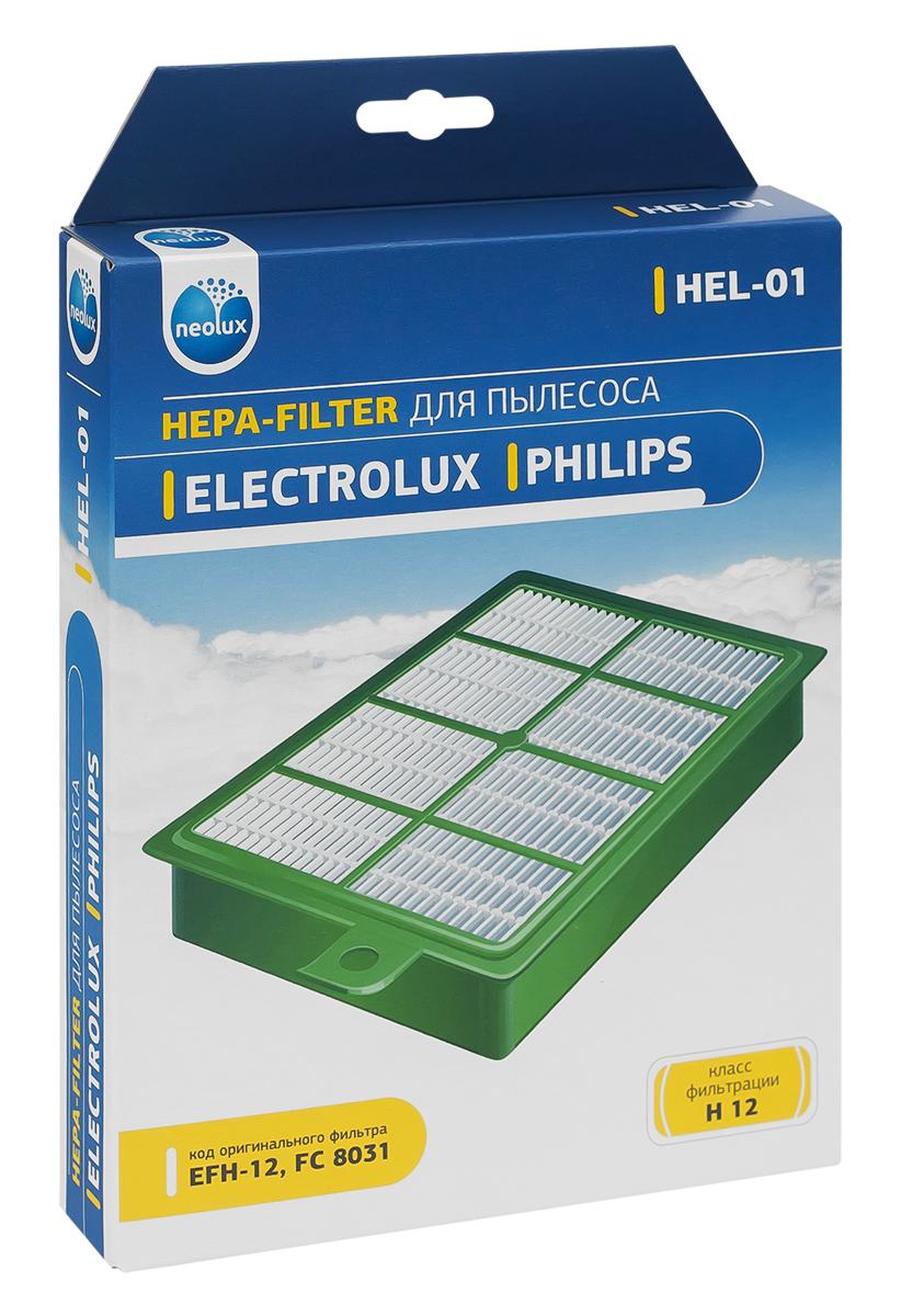 Neolux HEL-01 HEPA-фильтр для пылесоса Electrolux, PhilipsHEL-01HEPA фильтр Neolux HEL-01 предназначен для пылесосов Electrolux, Philips. Обладает высочайшей степенью фильтрации, задерживает 99,5% пыли. Благодаря специальным свойствам фильтрующего материала, фильтр улавливает мельчайшие частицы, позволяя очищать воздух от пыльцы, микроорганизмов, бактерий и пылевых клещей. Предотвращает попадание пыли в механическую часть пылесоса, тем самым продлевая срок службы пылесоса и сохраняют чистоту воздуха. Совместимые модели: Electrolux: Accelerator, Airmax, Bolido, Clario, Ergospace, Ergospace, Excellio, Jetmaxx, Maximus, Oxy3system, Oxygen, Scanimal, Scorigin, Scparkett, Smartvac, Ucorigin, Ultraflex, Ultraone, Ultraperformer, Ultra Silencer, Usdeluxe, Usorigindb, Zucallflr, Zucanimal, Zucdeluxe, Zusenergy, Philips: Ergofit, Jewel, Marathon, Performer, Performerpro, Powerpro, Silentstar, Studio(Power).