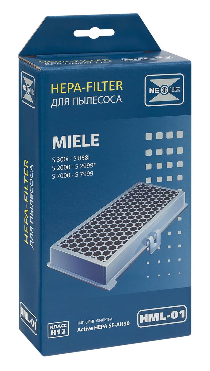 Neolux HML-01 HEPA-фильтр для пылесоса MieleHML-01HEPA фильтр Neolux HML-01 предназначен для пылесосов MIELE серий: S 300 - 858i, S 2000 - 2999, S 7000 - 7999. Отфильтровывает неприятные запахи благодаря специальному слою активированного угля. Код оригинального фильтра Active HEPA SF-AH30