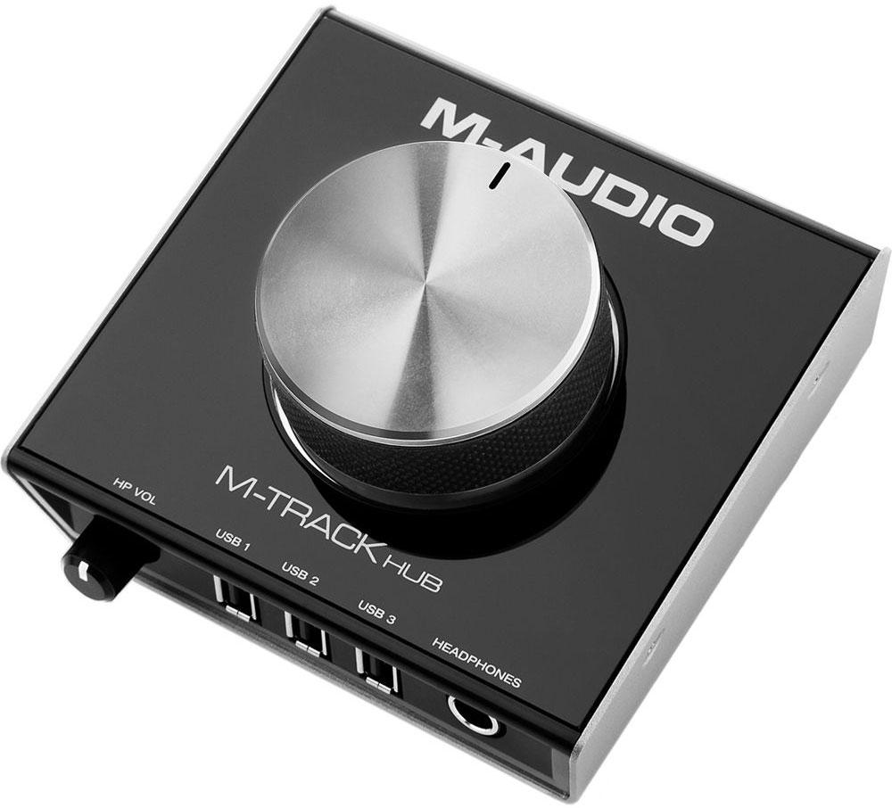 M-Audio M-Track Hub аудиоинтерфейс