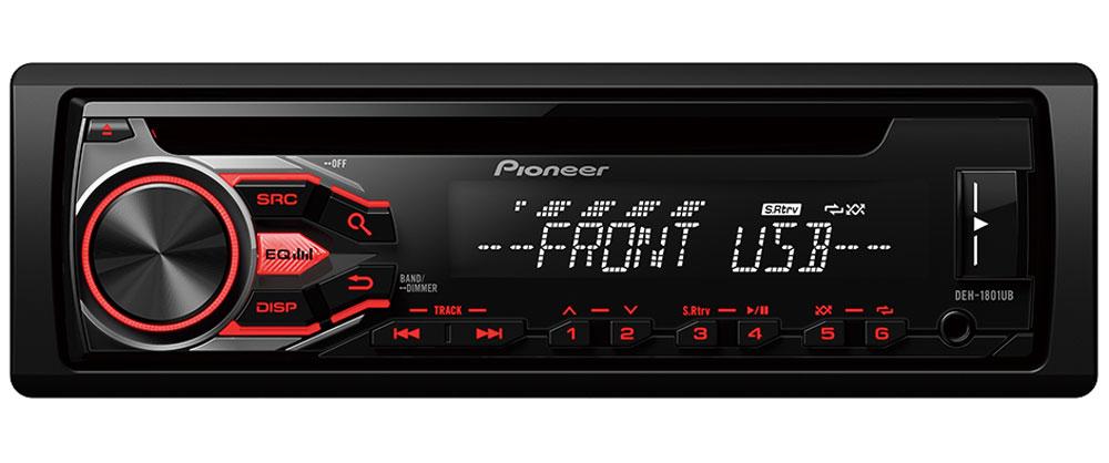 Pioneer DEH-1800UB автомобильный ресивер