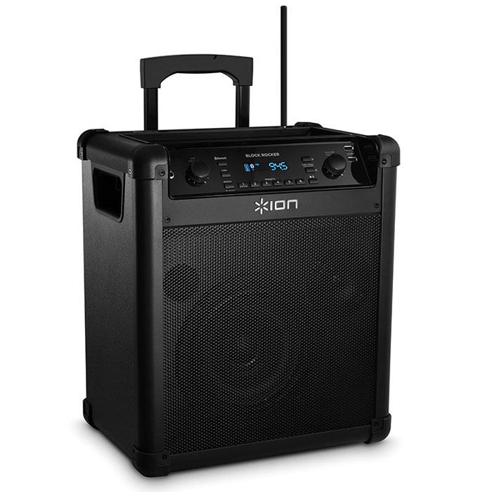 ION Audio Block Rocker iPA76C, Black акустическая система