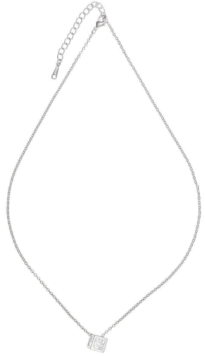 Подвеска Kawaii Factory Cube, цвет: серебристый. KW091-000187KW091-000187Изысканная невесомая подвеска Cube от Kawaii Factory изготовлена из ювелирного сплава. Оригинальный, молодежный дизайн модели привлекает внимание. Подвеска выполнена в виде металлического куба, в который помещен сверкающий страз. Цепочка застегивается на небольшой карабин. Изделие смотрится очень женственно и нежно.
