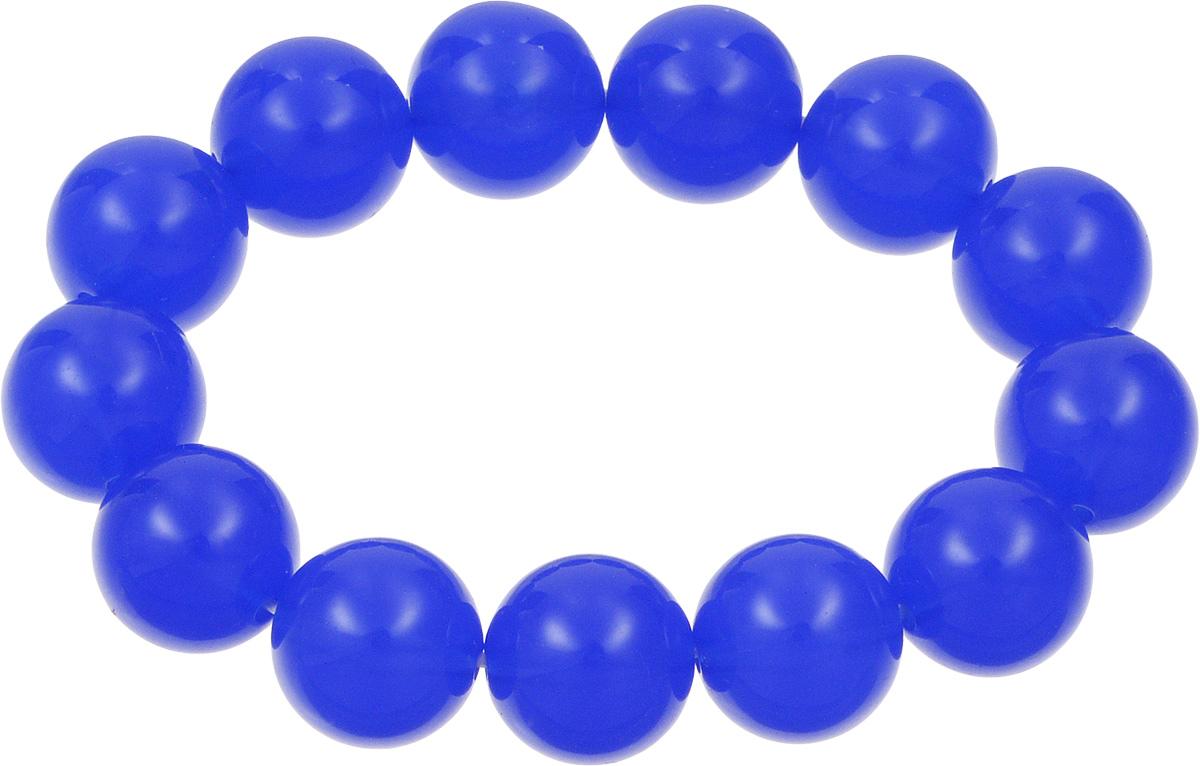 Браслет Kawaii Factory, цвет: синий. KW090-000166KW090-000166Яркий браслет от Kawaii Factory напомнит вам о теплых летних днях. Это универсальное украшение подойдет как к дневному повседневному наряду, так и к праздничному вечернему образу, а также станет не менее эффектным дополнением наряда в спортивном стиле. Браслет выполнен из крупных пластиковых бусин на мягкой резинке. Это симпатичное украшение с круглыми шариками похоже на яркие конфеты. Добавьте своему образу яркость и легкость, чтобы насладиться ощущением исключительности. Красивый браслет от Kawaii Factory подарит вам возможность быть особенной.