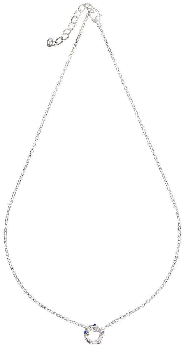 Подвеска Kawaii Factory Корона серебряная, цвет: серебристый. KW091-000009KW091-000009Изысканная невесомая подвеска Корона серебряная от Kawaii Factory изготовлена из металла. Оригинальный, молодежный дизайн модели привлекает внимание. Подвеска выполнена в виде маленькой короны, инкрустированной стразами. Цепочка застегивается на небольшой карабин. Изделие смотрится очень женственно и нежно.