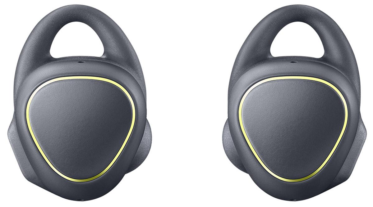 Samsung SM-R150 Gear IconX, Black беспроводные наушникиSM-R150NZKASEЧто может быть проще! Просто вставьте наушники и вы готовы. Беспроводные фитнес-наушники Samsung Gear IconX позволят вам тренироваться с еще большим комфортом. Эргономичный и лаконичный дизайн обеспечивает комфортную и безопасную фиксацию даже во время самой активной тренировки. Samsung Gear IconX имеют нано-покрытие P2i для защиты от брызг и пота. Беспроводные Bluetooth-наушники освободят вас от забот. Они автоматически распознают начало занятий и информируют о прогрессе. Теперь не нужно брать смартфон с собой: Gear IconX способны самостоятельно отслеживать активность, измерять и сохранять данные о скорости, расстоянии, дистанции, пульсе и потраченных калориях, а также проигрывать музыку. Голосовой помощник сообщит о статусе вашей деятельности, тем самым помогая вам оставаться в оптимальной зоне для максимально эффективной тренировки. Кроме того, вы сможете получать информацию об уровне заряда аккумулятора и получать рекомендации. После...