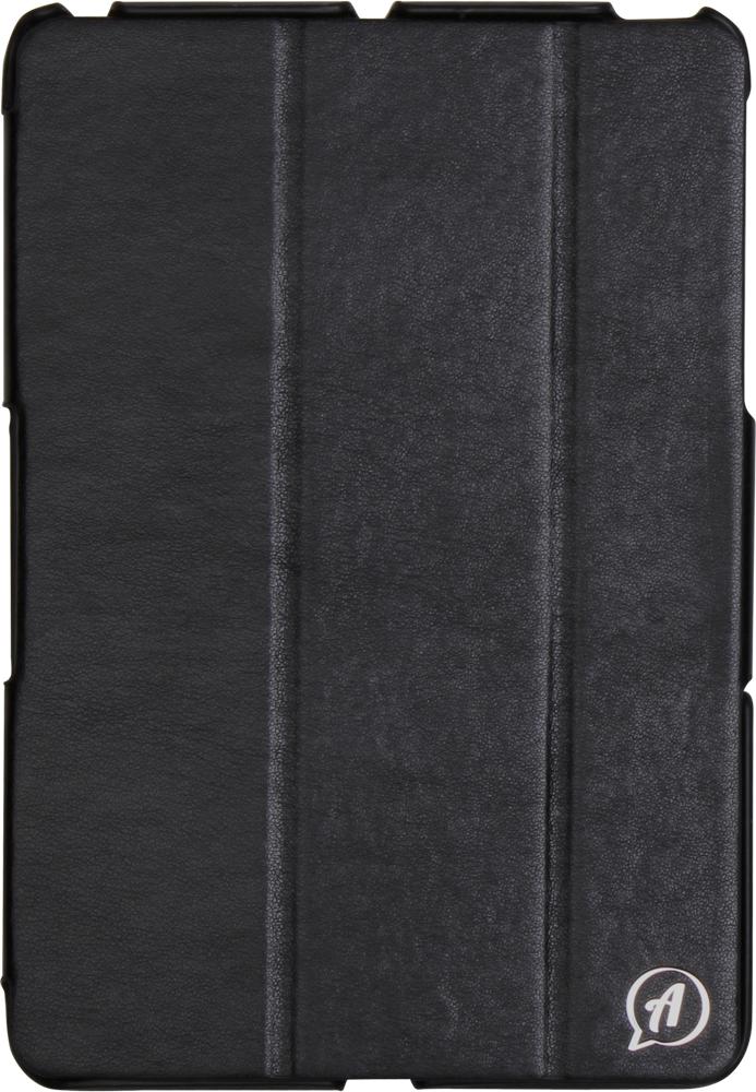Untamo Accentika чехол для iPad mini 3, BlackUACIPADMINI3BLСверхтонкий чехол Untamo Accentika для iPad mini 3 изготовлен из эко-кожи и прошит контрастной строчкой по краю. Плотно прилегает к устройству, формируя жесткий каркас с поверхностью матовой эко-кожи. Подкладка из микрофибры обеспечивает дополнительную защиту от механических повреждений.