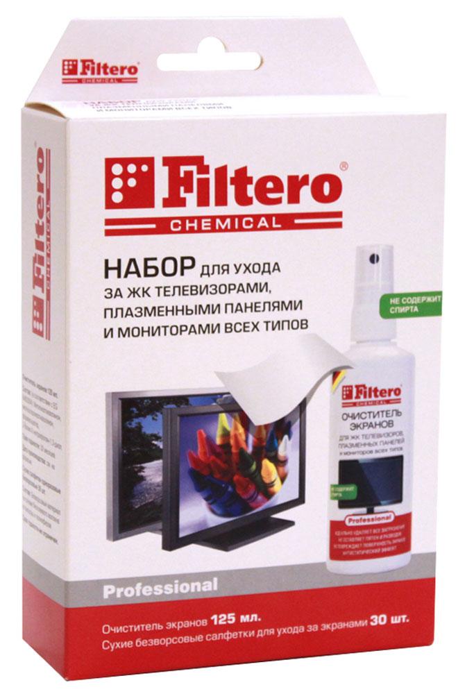 Filtero 102 средство для очистки экранов, 125 мл