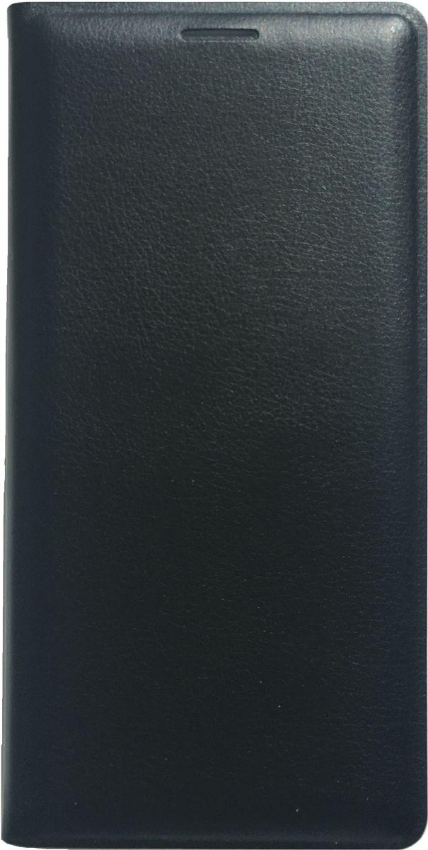 Acqua Wallet Extra чехол для Samsung Galaxy S7 Edge, Black53846Чехол-книжка Acqua Wallet Extra для Samsung Galaxy S7 Edge создан из высококачественных материалов. На внутренней стороне чехла имеется карман для пластиковых карт. Чехол надежно защитит ваш телефон от царапин, сколов и незначительных механических повреждений. Он также обеспечивает свободный доступ ко всем функциональным кнопкам смартфона и камере.